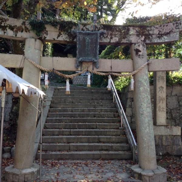 神社の鳥居入り口
