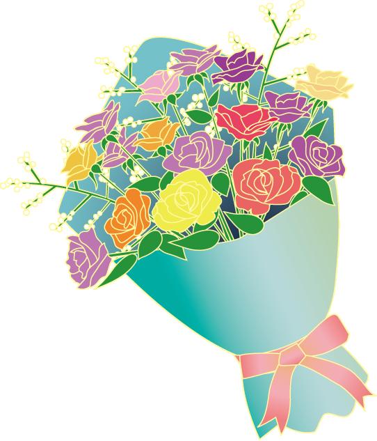 山の花、町の花